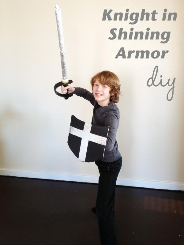 Knight in Shining Armor DIY