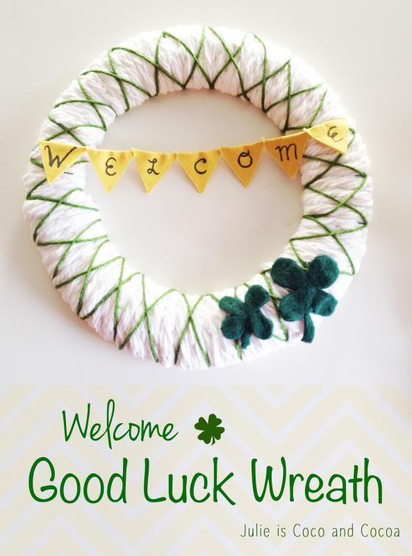 Welcome Luck Wreath