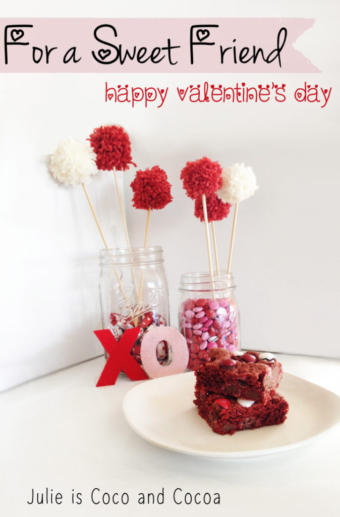 Red Velvet Love for a Sweet Friend this Valentine's Day