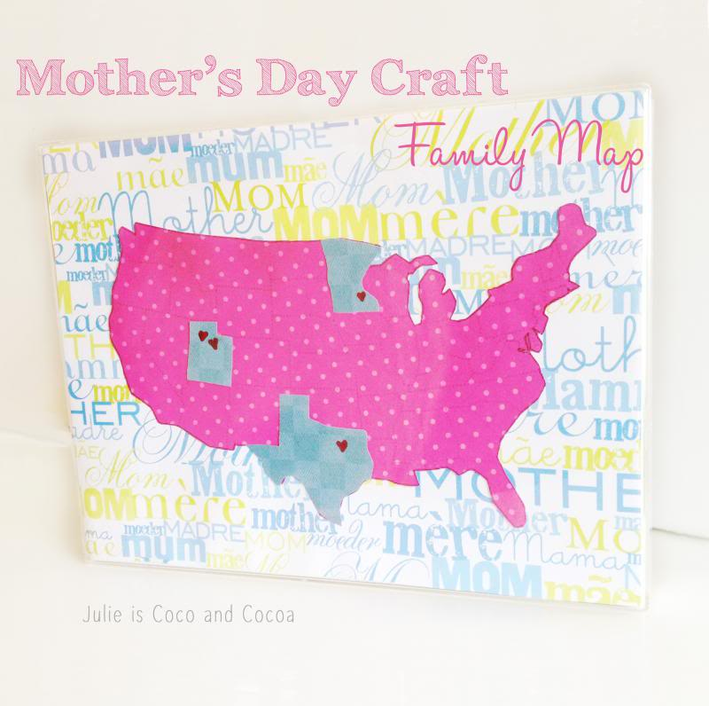 Family Map DIY Craft