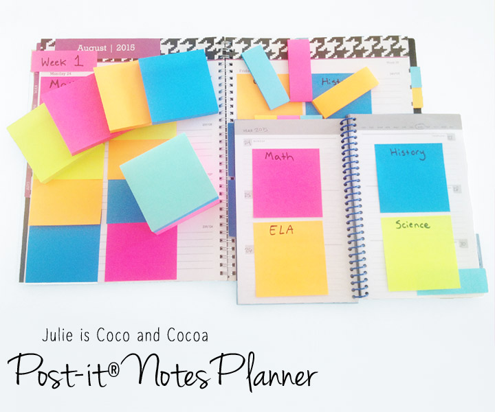 Post-it® Notes Planner