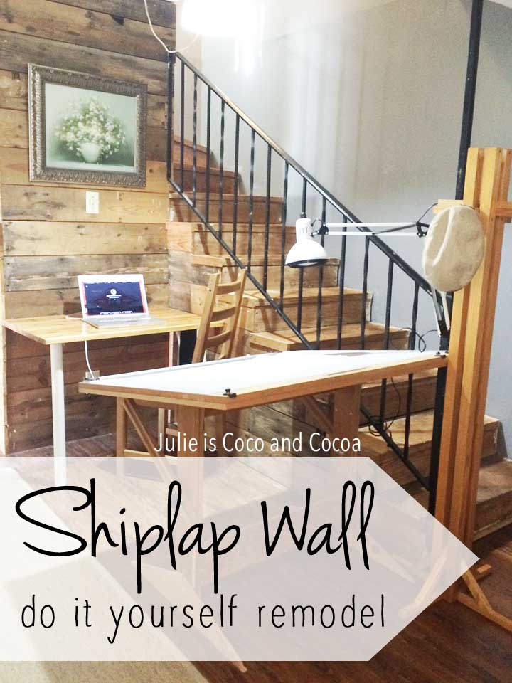 Shiplap Wall Project