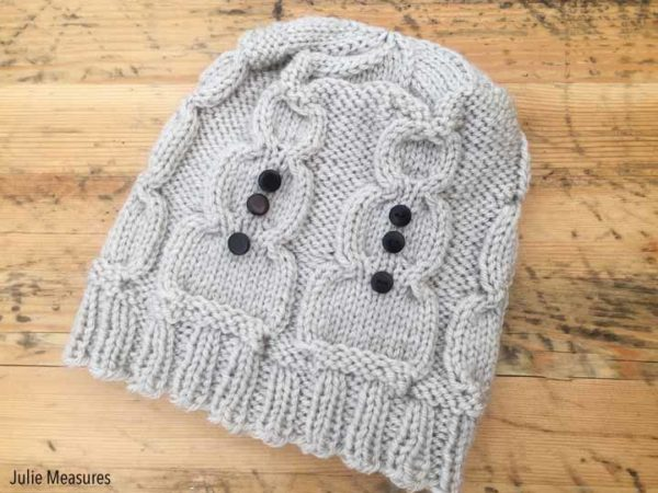 snowman hat knit pattern