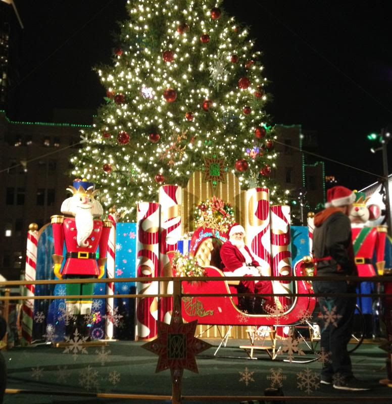 Sundance Square Tree Lighting