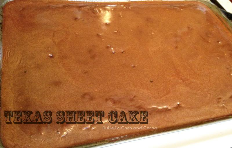 Happy Birthday Texas Sheet Cake