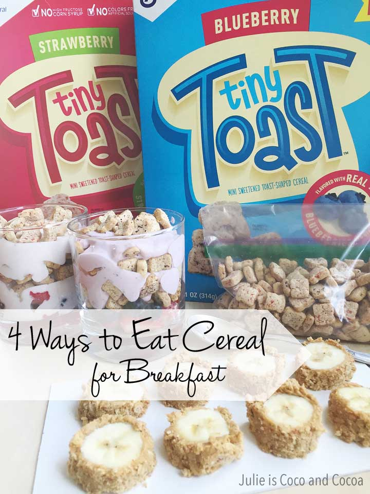 4 Ways to Eat Cereal For Breakfast
