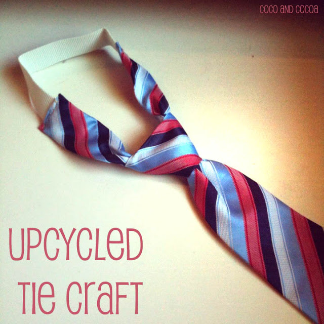 upcycled tie craft