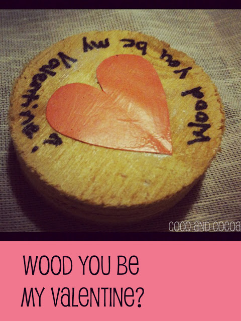 Wood you be my Valentine?