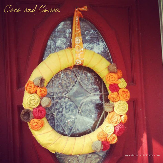 A fall wreath {part 1}