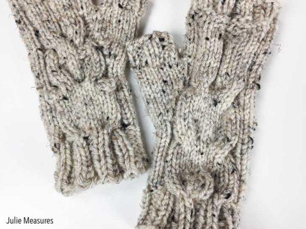 Bunny Gloves Knit Pattern