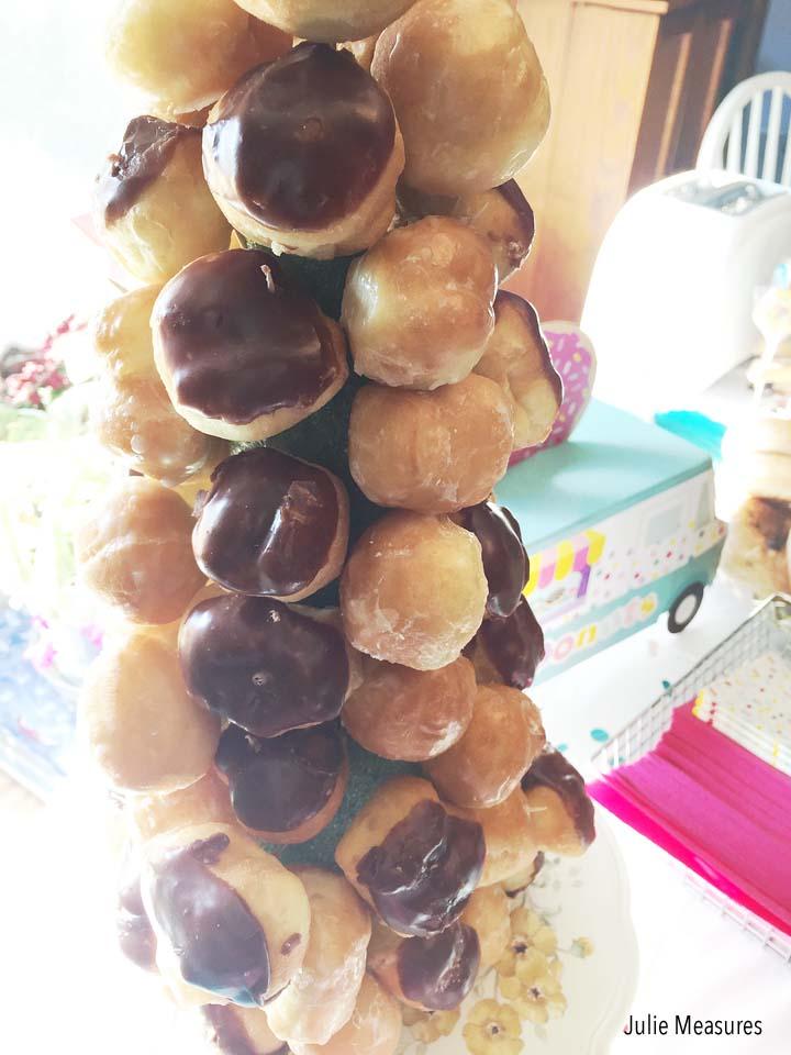 Donut Hole Cake
