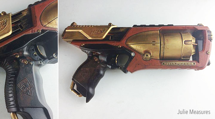 toy gun cosplay steampunk prop