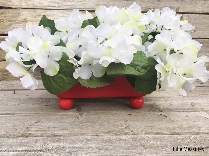Upcycled Bread Pan Planter