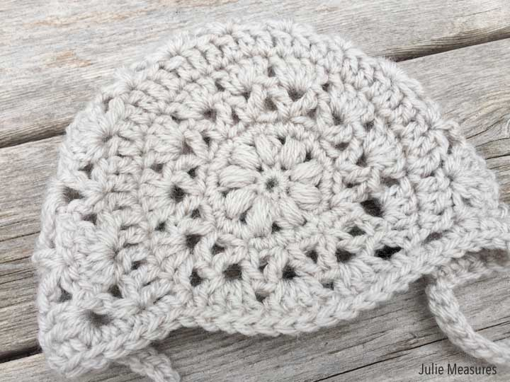 Baby Bonnet Crochet Pattern