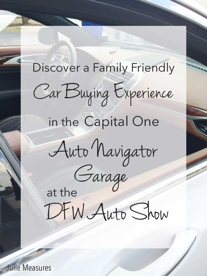 Capital One Auto Navigator Garage DFW Auto Show