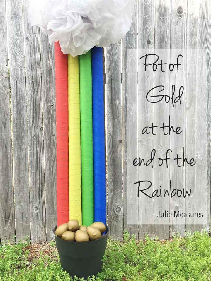 DIY Pot of Gold Rainbow