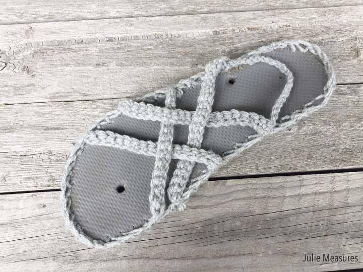 Woven Crochet Sandals