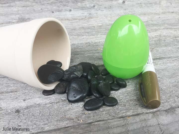 Plastic Egg Cactus