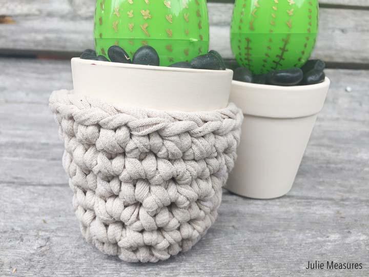 Plastic Egg Cactus TShirt Yarn Bowl
