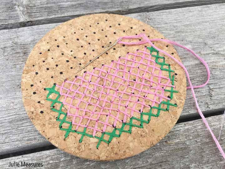 Cross Stitch Coasters