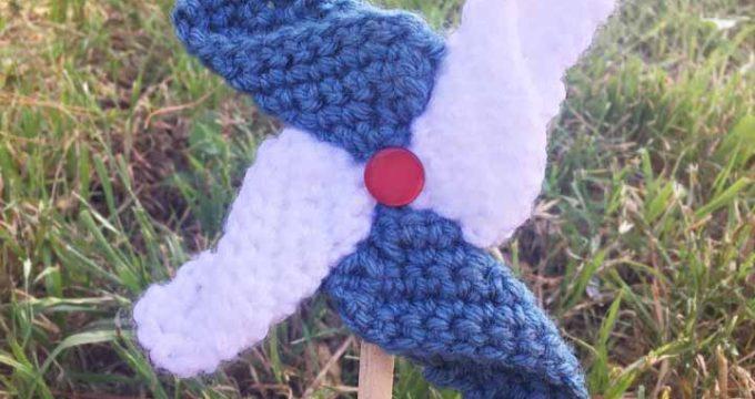 Crochet Pinwheels
