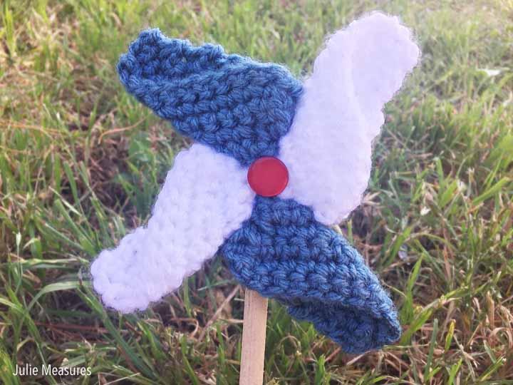Crochet Pinwheel