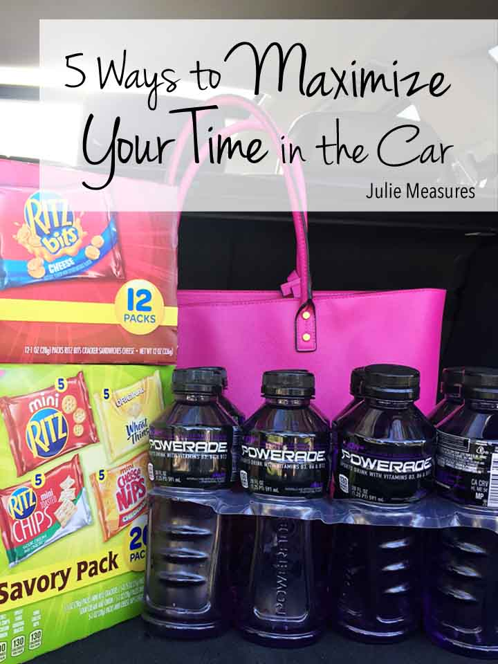 5 Ways to Maximize Your Time in the Car