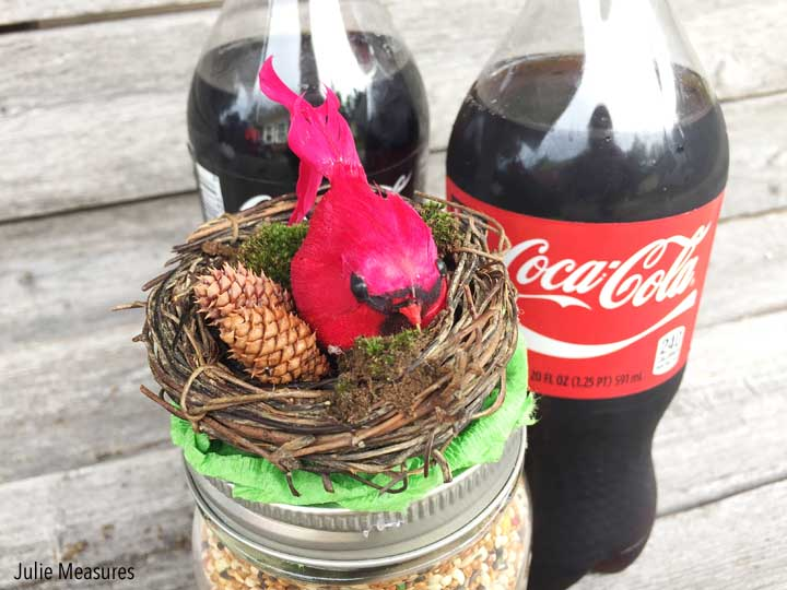 Last Minute Birdseed Hostess Gift