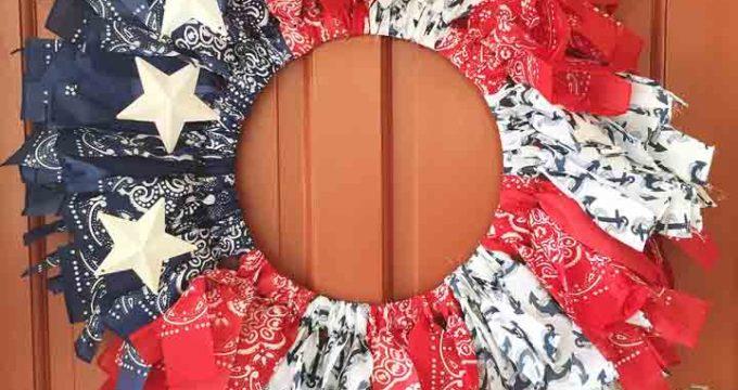 Patriotic Summer Bandanna Crafts