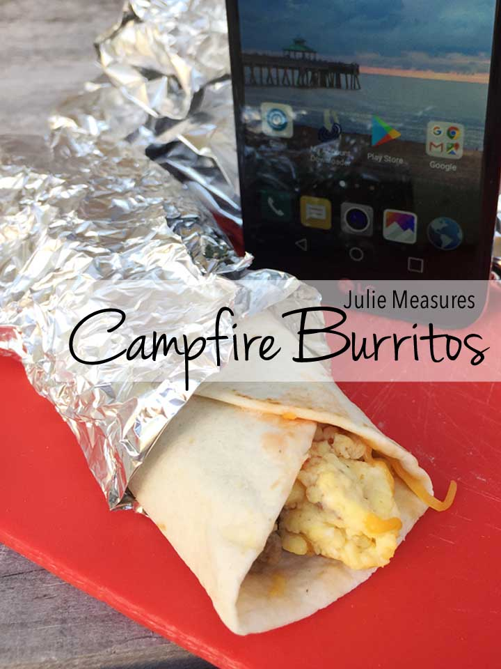 Campfire Breakfast Burritos (or Breakfast Tacos)