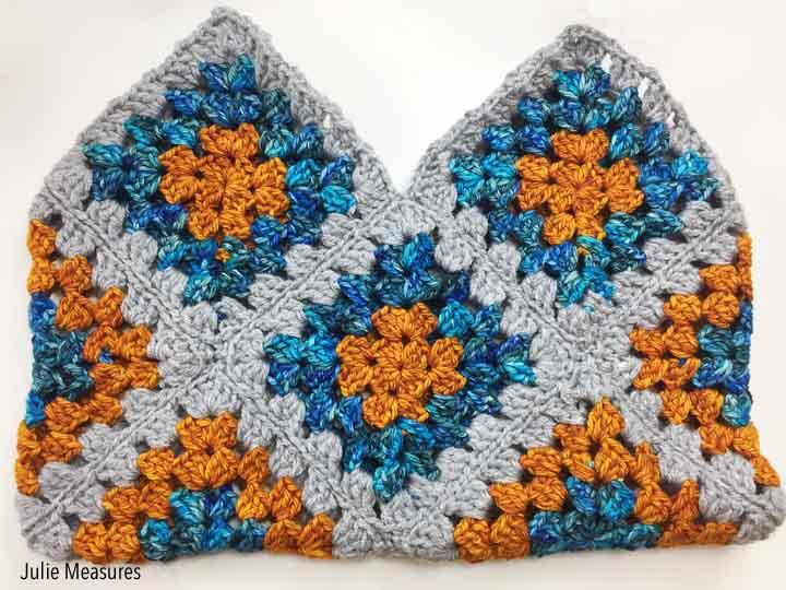 Granny Square Bag Crochet Pattern