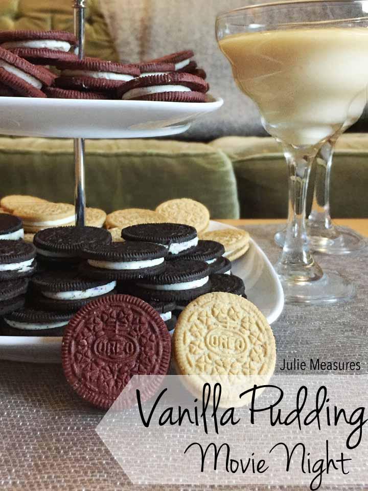 Vanilla Pudding Family Movie Night