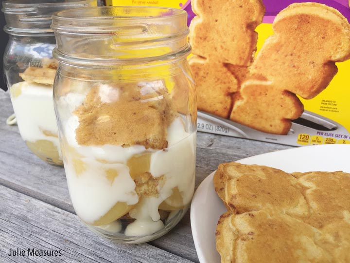 Apple Cinnamon Toast Parfait