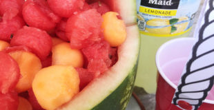 Watermelon Beach Pail and Beach Pail Party Cups