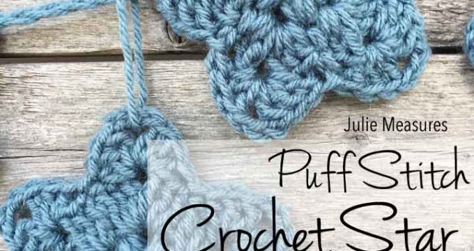 Puff Stitch Crochet Star