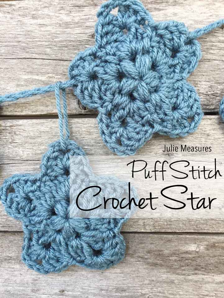 Puff Stitch Crochet Star Pattern