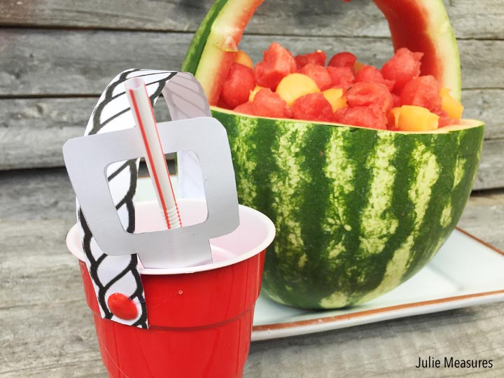 Watermelon Beach Pail