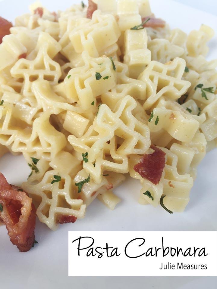 Texas Pasta Carbonara