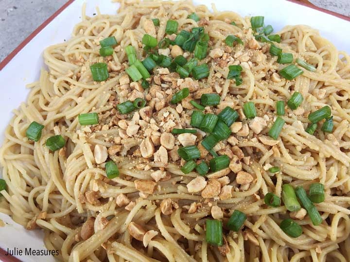 Easy Entertaining with Peanut Noodles