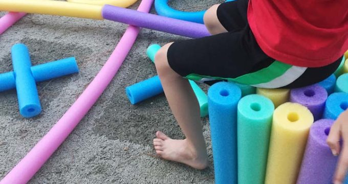 Pool Noodle Crafts and Games