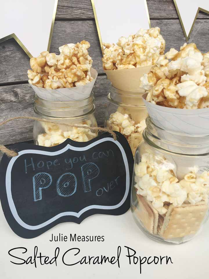 We Hope You Can 'POP' By For Salted Caramel Popcorn