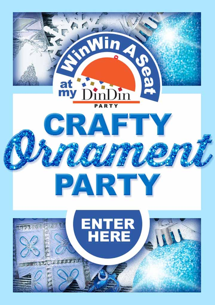 Crafty Holiday Ornament Party