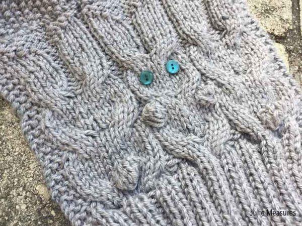 Bunny Scarf Knit Pattern