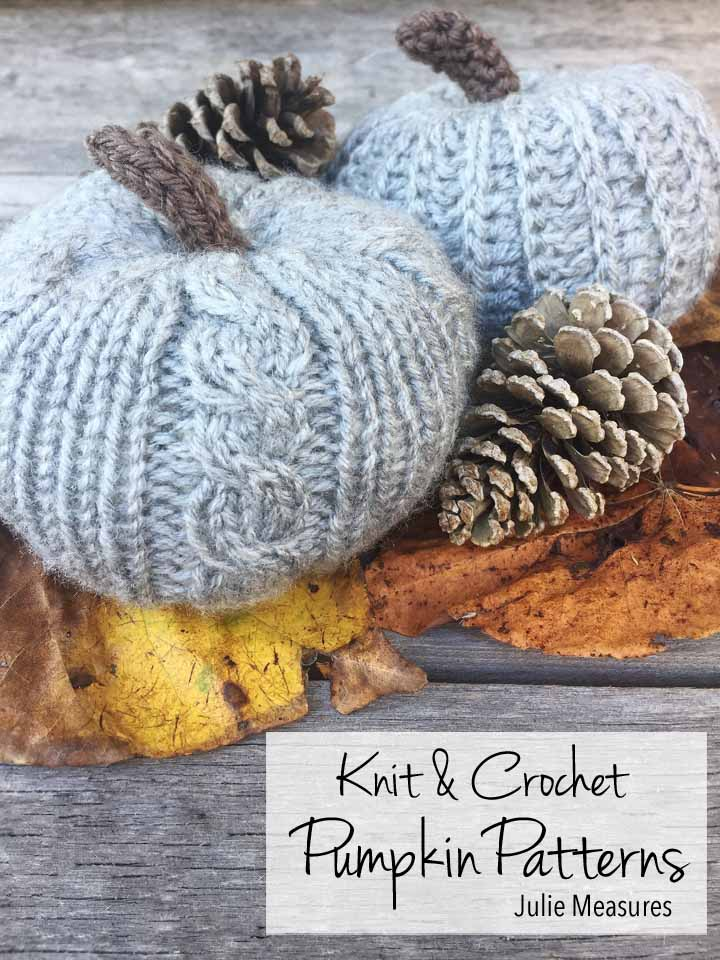 Knit Pumpkin Pattern Crochet Pumpkin Pattern