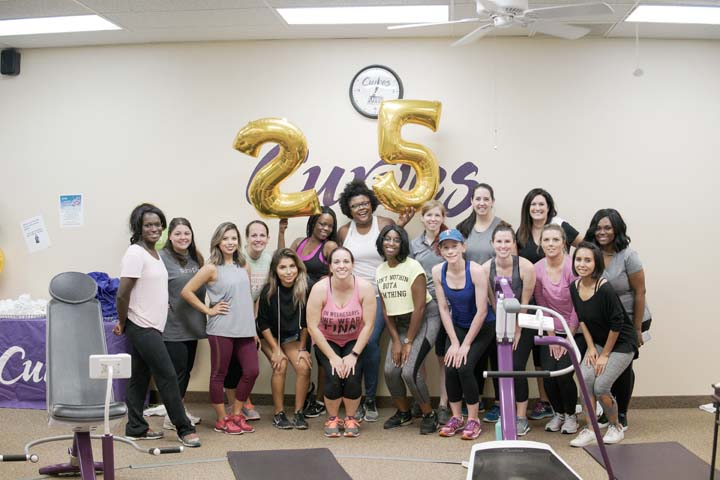 Curves Gym Workout Party
