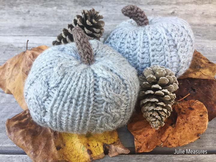 Knit and Crochet Pumpkin Pattern
