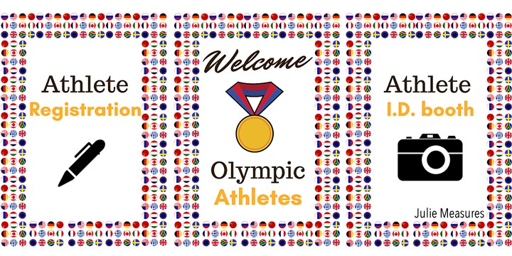 Gold Medal Olympic Party