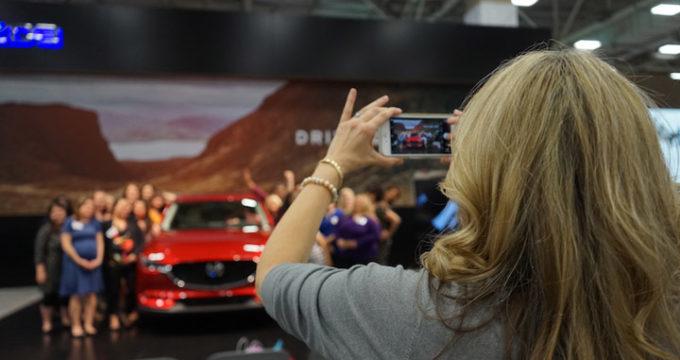 2018 dfw auto show