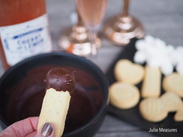 fondue dessert