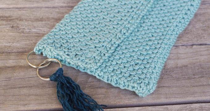 Tassle Clutch Crochet Pattern
